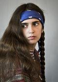 Female, hair, elegance, human, portrait, women, hairdres — Stock Photo