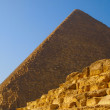 Ruins of the pyramid of Cheops — Stock Photo #4830743