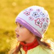 Royalty-Free Stock Photo: Young girl wearing a hat