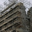 Castle ruins during renovation — Stock Photo #5320278