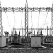 Stock Photo: Electrical sub station