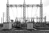 Electrical sub station — Stock Photo