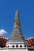 Beautiful pagoda at Royal Palace, Bangkok — Stock fotografie