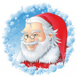 Santa Logo — Stock Vector #4231311