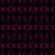 Royalty-Free Stock Vector Image: Black & pink wallpaper