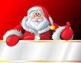 Santa — Stok Vektör