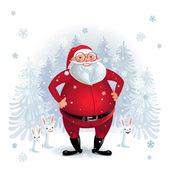 Santa Claus — Stok Vektör