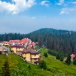 The modern houses and hotels in Bulgaria - Stock Photo