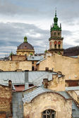 Lviv city, Ukraine — Stock Photo