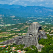 The view of Meteora — Stock Photo