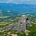 The view of Meteora — Stock Photo