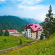 The houses and hotels in Bulgaria — Stock Photo