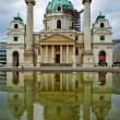 Karlskirche, Vienna — Stock Photo