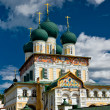 Russian christian church — Stock Photo