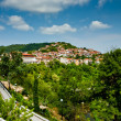 Veliko Tirnovo (Tarnovo) city in Bulgaria - Stock Photo