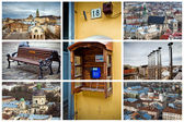 Lviv city postcard, Ukraine — Stock Photo