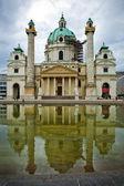 Karlskirche, Vienna — Stockfoto