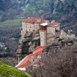 The Meteora monastery — Stock Photo