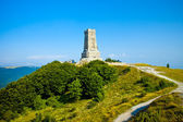 Memorial Shipka view in Bulgaria — Stock Photo