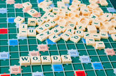 Words game — Stock Photo