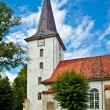 Tukums Holy Trinity Lutheran Church, Latvia — Stock Photo
