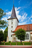 Tukums Holy Trinity Lutheran Church, Latvia — Stock Photo