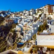 Thira on Santorini island, Greece — Stock Photo