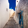 Streets in city Oia, Santorini, Greece — Stock Photo #5352208