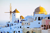 Oia city view, Santorini — Stock Photo