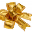 Golden bow — Stock Photo