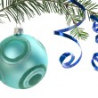 Stock Photo: Christmas ornament on white