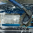Cleaning the car - Stock Photo