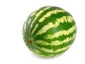 Perfect watermelon on white background — Stock Photo