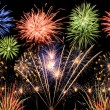 Spectacular fireworks - Stock Photo