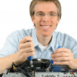 Stockfoto: Friendly support technician