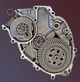 Mechanical Heart — Stock Photo