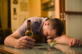Alcoholism — Stock Photo