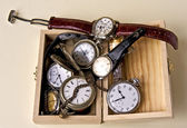 Broken clocks — Stock Photo