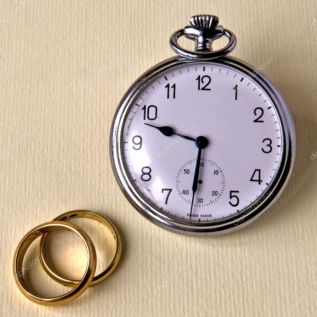Fundamental value of marriage is the time before and after — Stock Photo #4973945