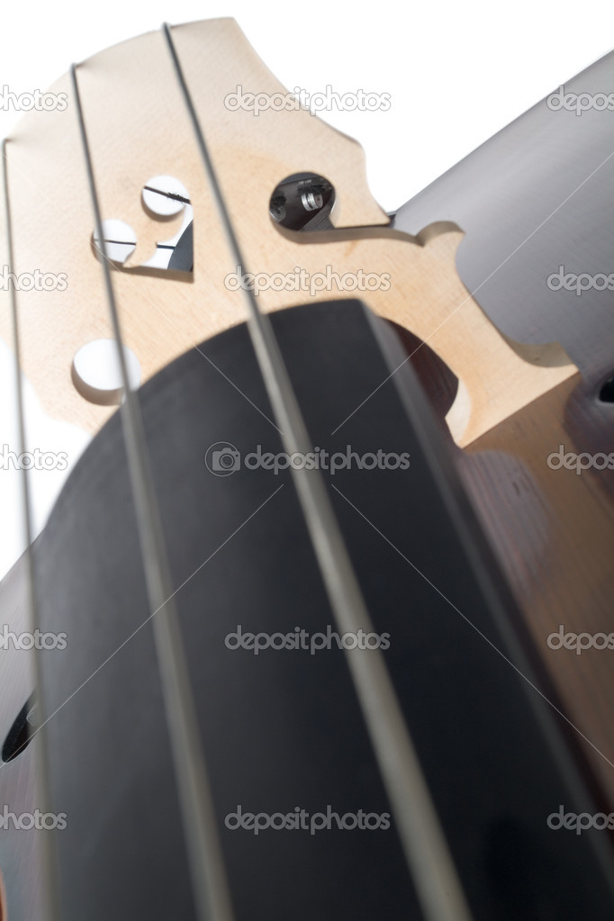 Detail view of violin — Stock Photo #4223831