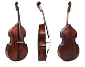 Three cello view — Stock Photo