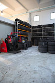 Tyre Warehouse — Stock Photo