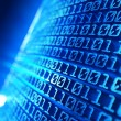 Stockfoto: Binary code background