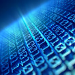 Stock Photo: Binary code background