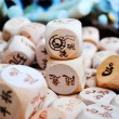 Housework Dice — Stock Photo #4277304