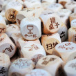 Stock Photo: Housework Dice