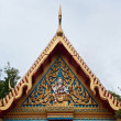 Gable Apex of Thai Temple — Stock Photo #4217957