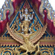Gable Apex of Thai Temple - 图库照片