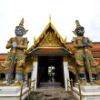 Guardian of Grand Palace in temple Bangkok Thailand — Stock Photo #4252930