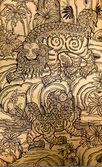 Geleneksel tay tarzı resim sanatı — Stok fotoğraf